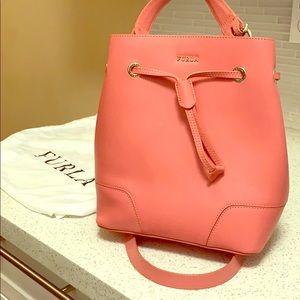 Furla Stacy Leather Bucket Bag